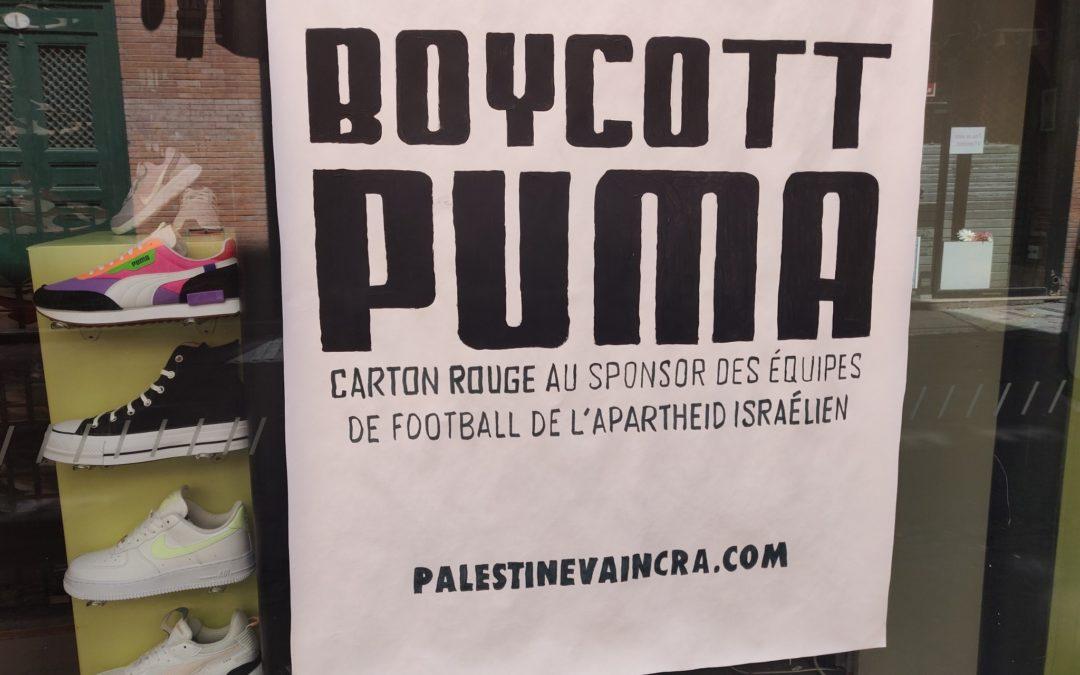 Succès de la troisième journée mondiale #BoycottPuma!
