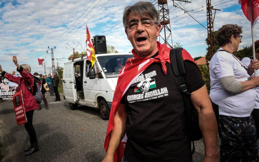 Hommage à Pierre Granet, soutien inconditionnel au peuple palestinien et à Georges Abdallah