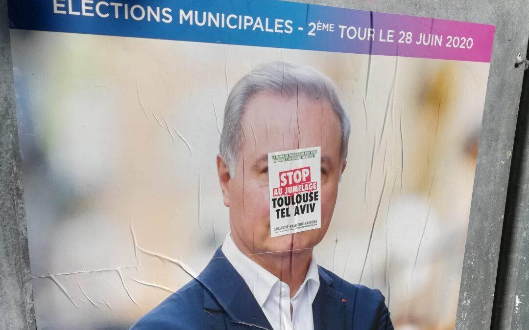 Le CRIF s'inquiète du succès de la campagne contre le jumelage de Toulouse avec Tel-Aviv