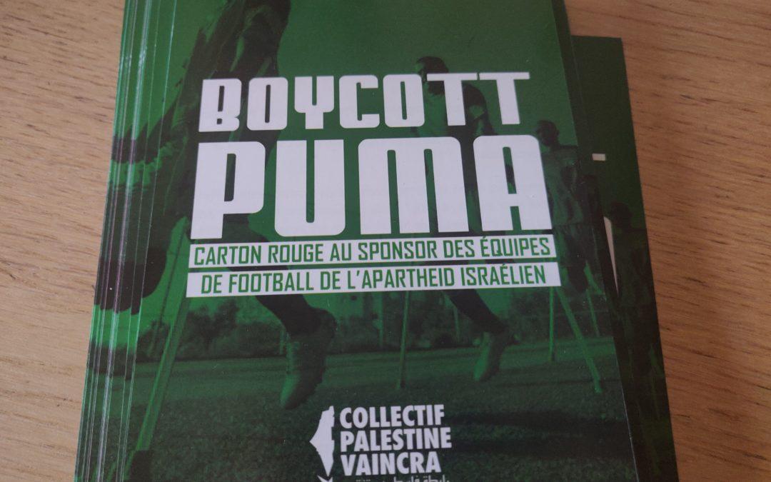 Flyers : «Boycott Puma»
