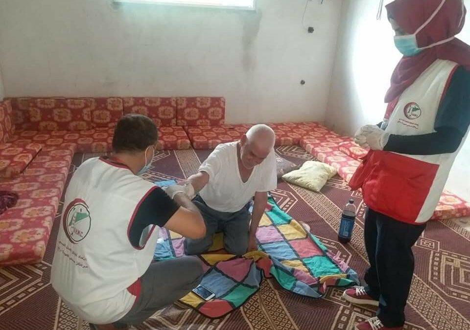 L'Union des Comités des Travailleurs de la Santé-UHWC de Gaza se mobilise contre l'épidémie de coronavirus