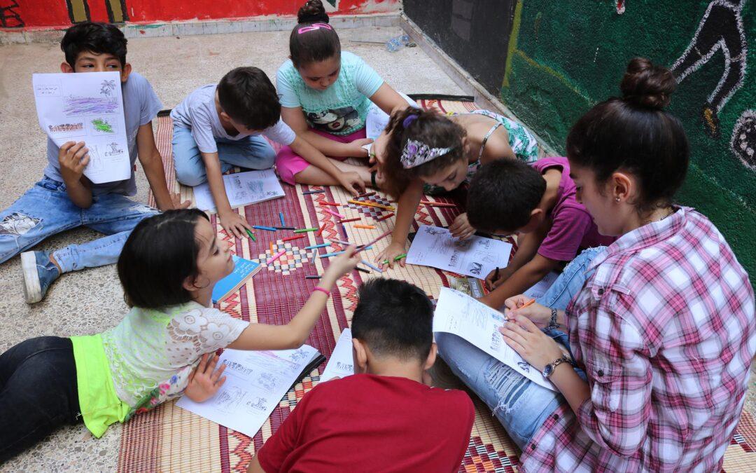 Solidarité avec le Centre Al-Naqab du camp de réfugiés palestiniens de Burj Al Barajneh de Beyrouth