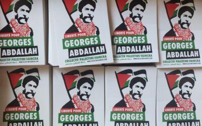 Autocollant «Liberté pour Georges Abdallah»