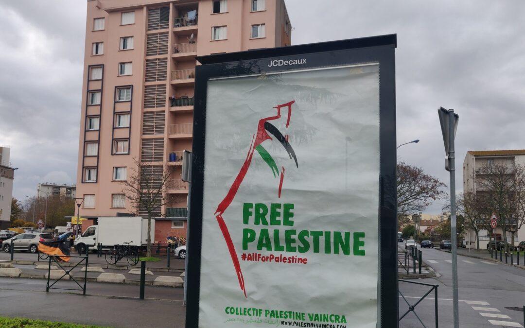 La Journée internationale de solidarité avec le peuple palestinien célébrée dans les rues de Toulouse