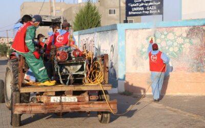 Gaza fait face au développement de l'épidémie de COVID-19