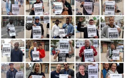 Samedi 21 novembre, participez à la mobilisation #BoycottPuma sur Twitter