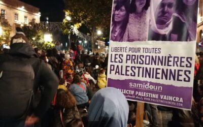 À l'occasion de la Journée internationale contre les violences faites aux femmes, solidarité avec les prisonnières palestiniennes !