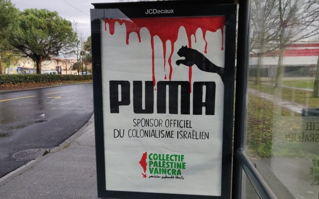 Quatrième journée mondiale #BoycottPuma : une mobilisation qui en appelle d'autres !