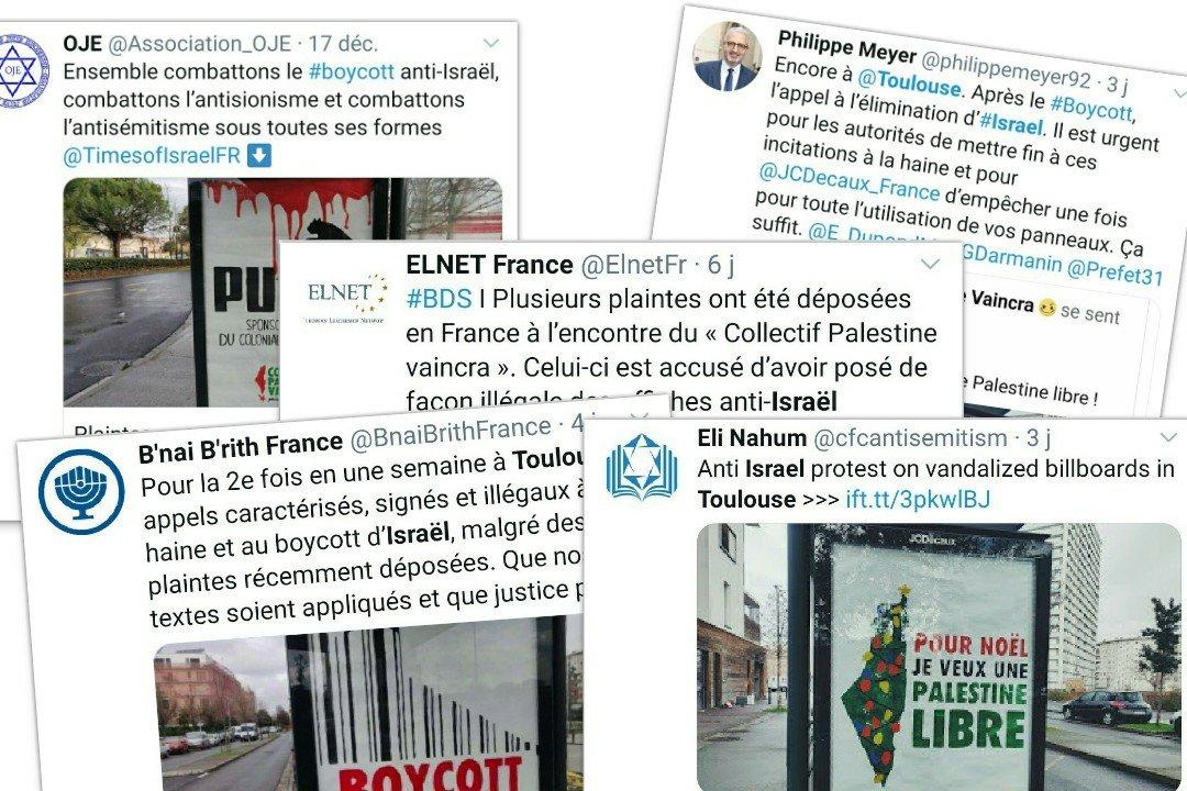 Plusieurs organisations proches de l'extrême droite israélienne développent une campagne de menaces et d'intimidations sur les réseaux sociaux