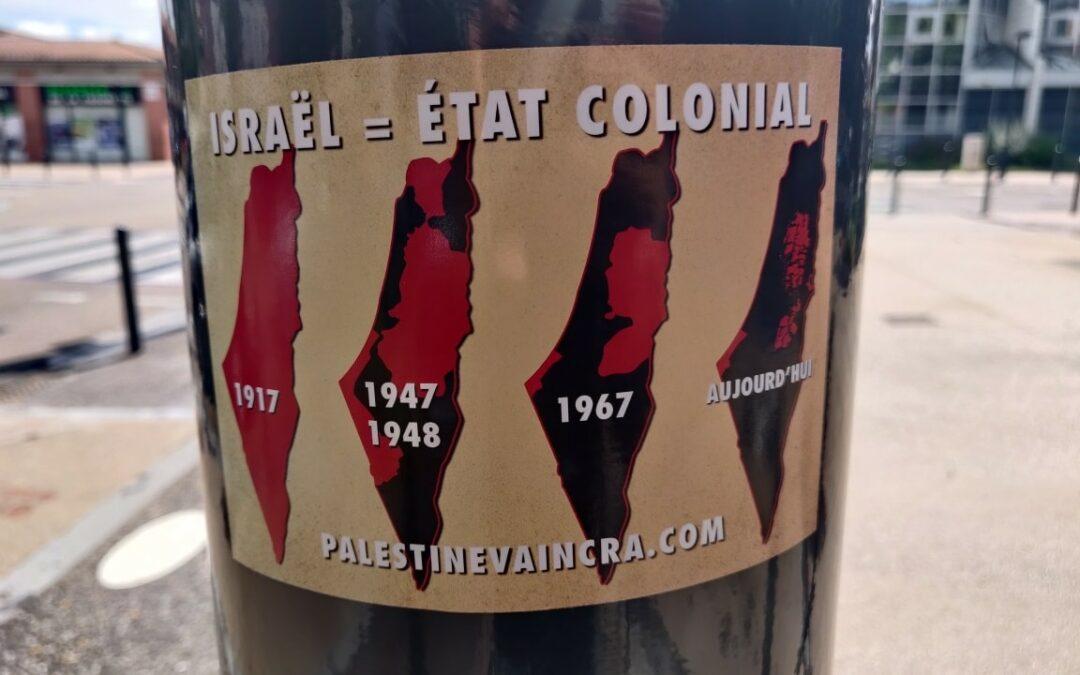 Pourquoi Israël est une colonie de peuplement?