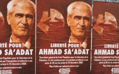 16 Janvier : Stand Palestine « Liberté pour Ahmad Sa'adat ! »
