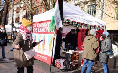 20 Février : Stand Palestine «Boycott Israël»