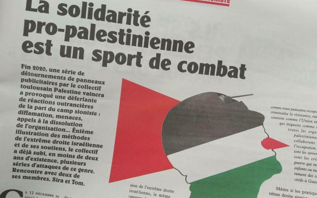 Face à la fachosphère sioniste : la solidarité pro-palestinienne est un sport de combat (interview)