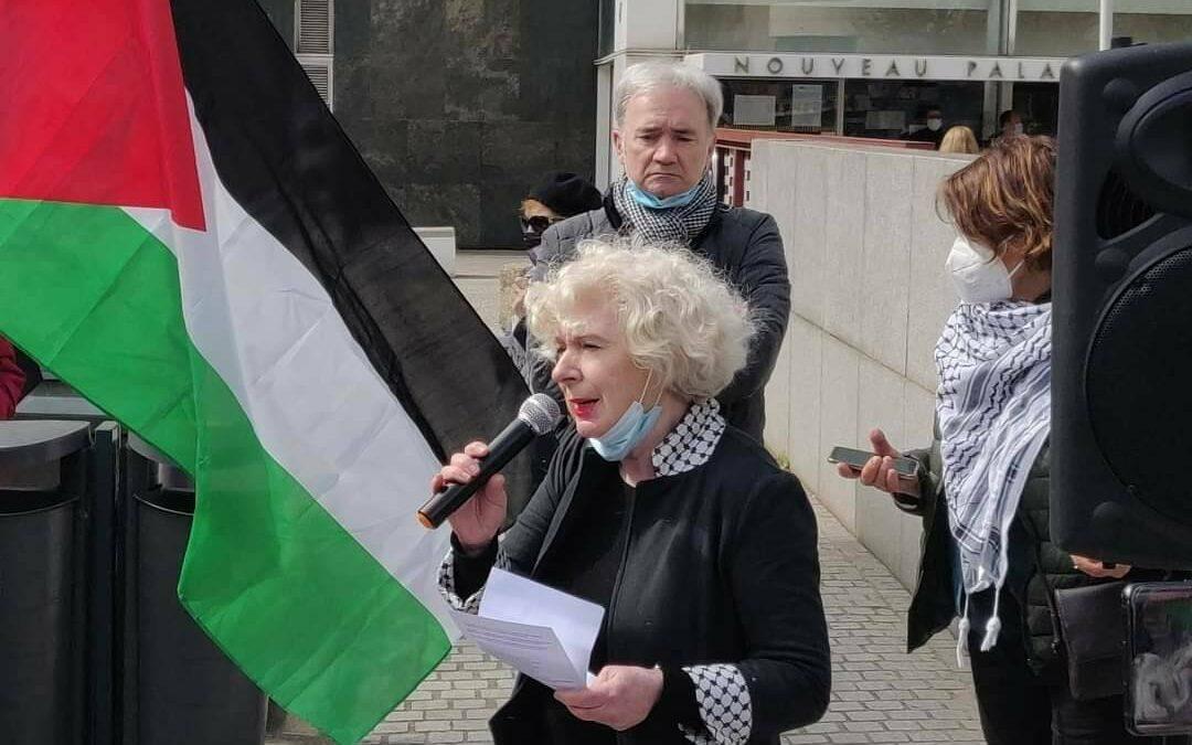 Succès du rassemblement de solidarité avec Olivia Zémor lors du procès #BoycottTeva à Lyon