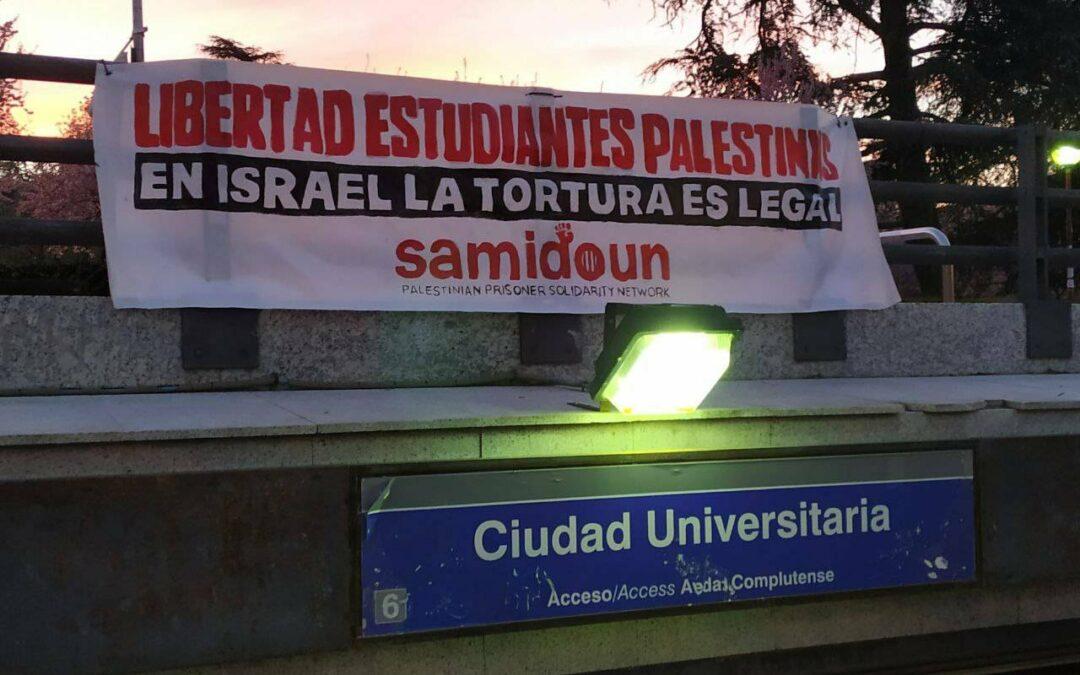 La mobilisation pour les étudiant·e·s palestinien·ne·s emprisonné·e·s se développe à travers le monde