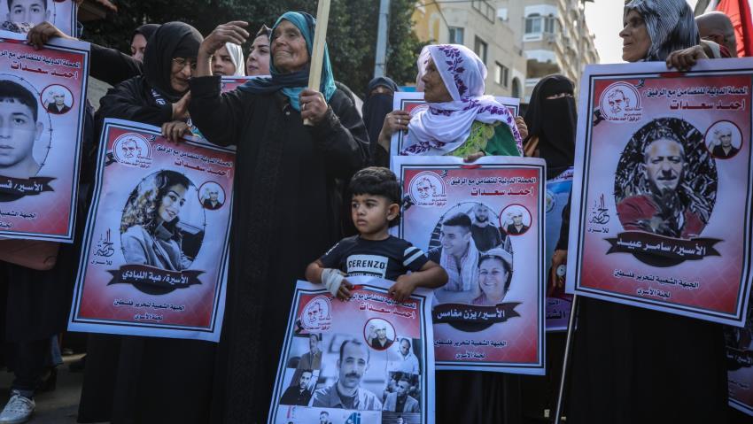 17 Avril : Stand Palestine «Liberté pour tou·te·s les prisonniers palestiniens !»