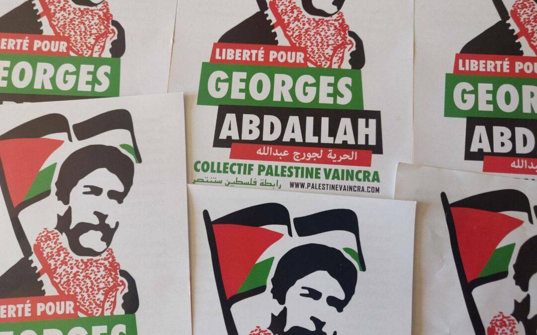 Flyers : «Liberté pour Georges Abdallah»