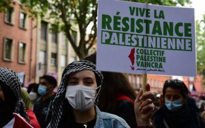 Dans les rues de Toulouse, 1000 personnes manifestent pour la Palestine