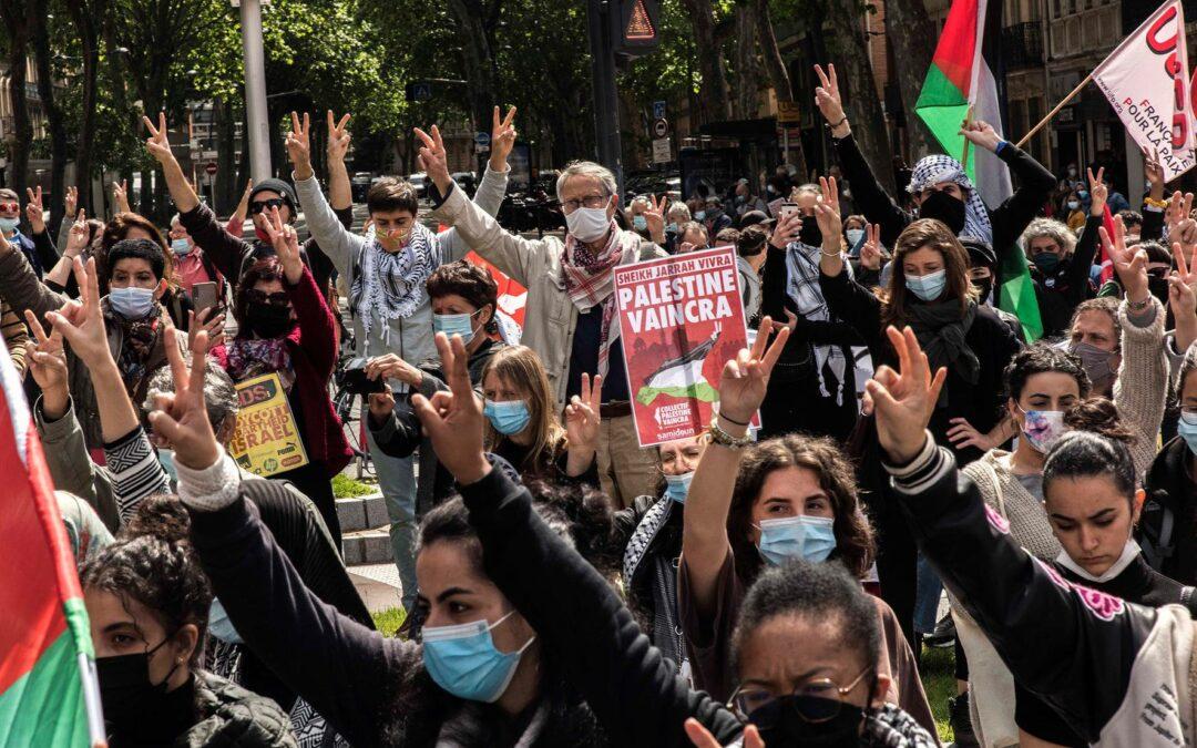 Une militante palestinienne du Collectif Palestine Vaincra appelle à l'intensification de la solidarité !