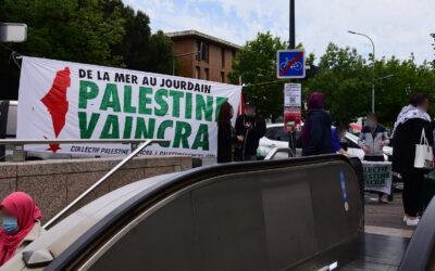Dans le quartier populaire de Bagatelle à Toulouse, les habitants saluent la résistance palestinienne !