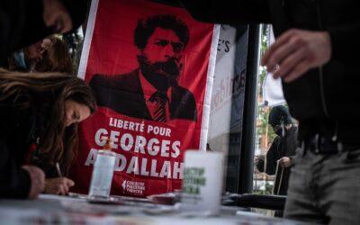 19 Juin : Stand Palestine «Liberté pour Georges Abdallah ! Liberté pour la Palestine !»