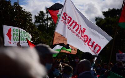 Le réseau de soutien aux prisonniers palestiniens Samidoun se développe en France et au Canada