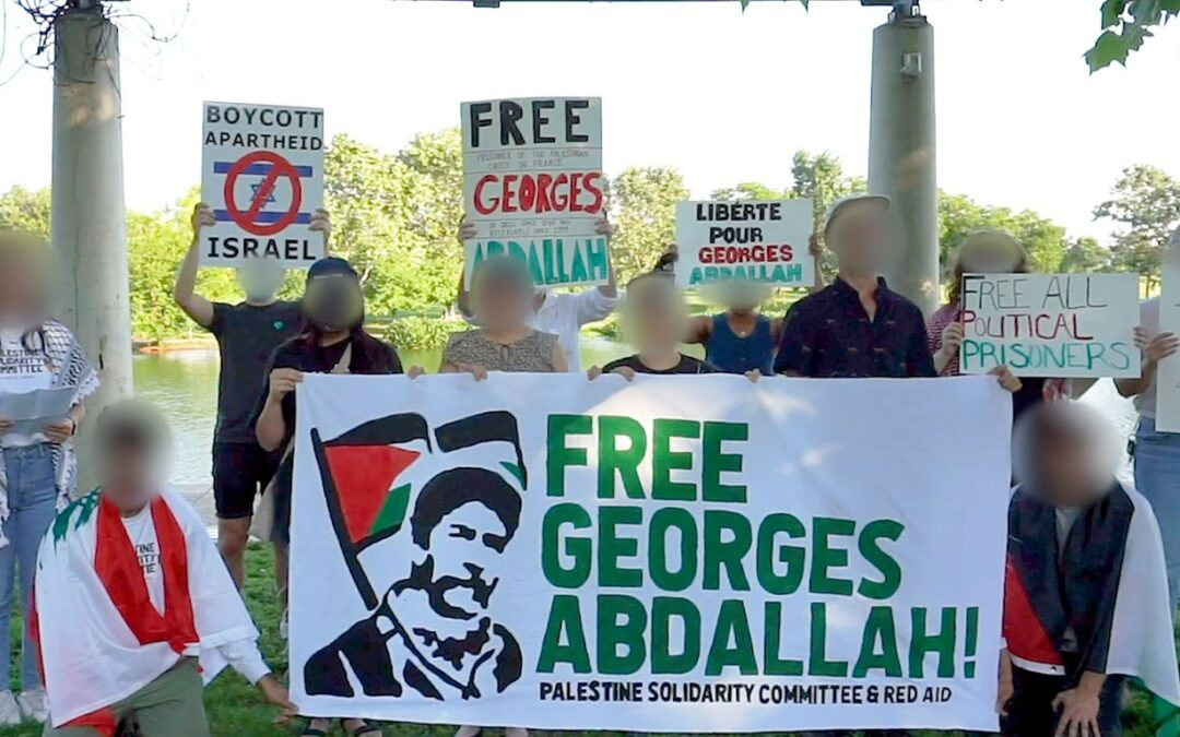 A travers le monde, les soutiens de Georges Adallah se mobilisent pour exiger sa libération immédiate