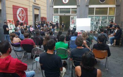 A Naples, belle soirée de solidarité avec la Palestine et Georges Abdallah