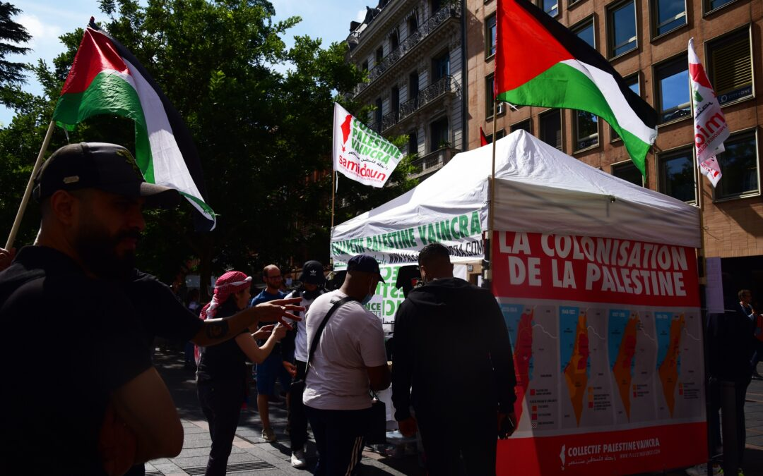 A Toulouse, la résistance palestinienne est célébrée lors d'un nouveau Stand Palestine