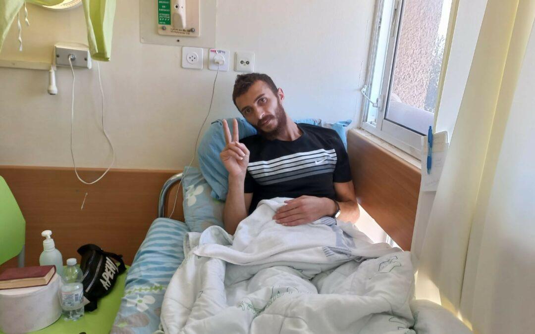 Après 65 jours de grève de la faim, victoire pour le prisonnier palestinien Ghadanfar Abu Atwan !