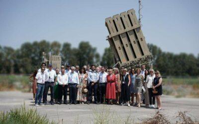 Des élus français en visite en Israël sous la houlette de l'extrême droite sioniste