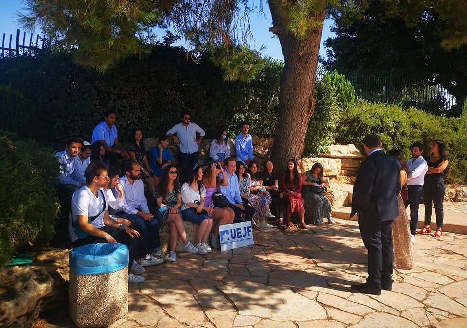 En visite en Israël, l'UEJF rencontre Yomtov Kalfon, député d'extrême droite