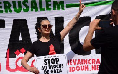 A Toulouse, solidarité avec le peuple palestinien contre le blocus de Gaza !