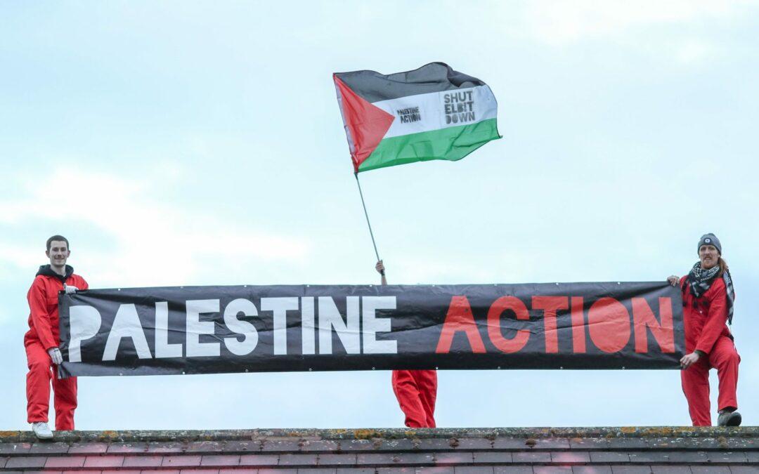 En un an, Palestine Action a causé 15 930 000 £ de pertes à l'industrie israélienne de l'armement