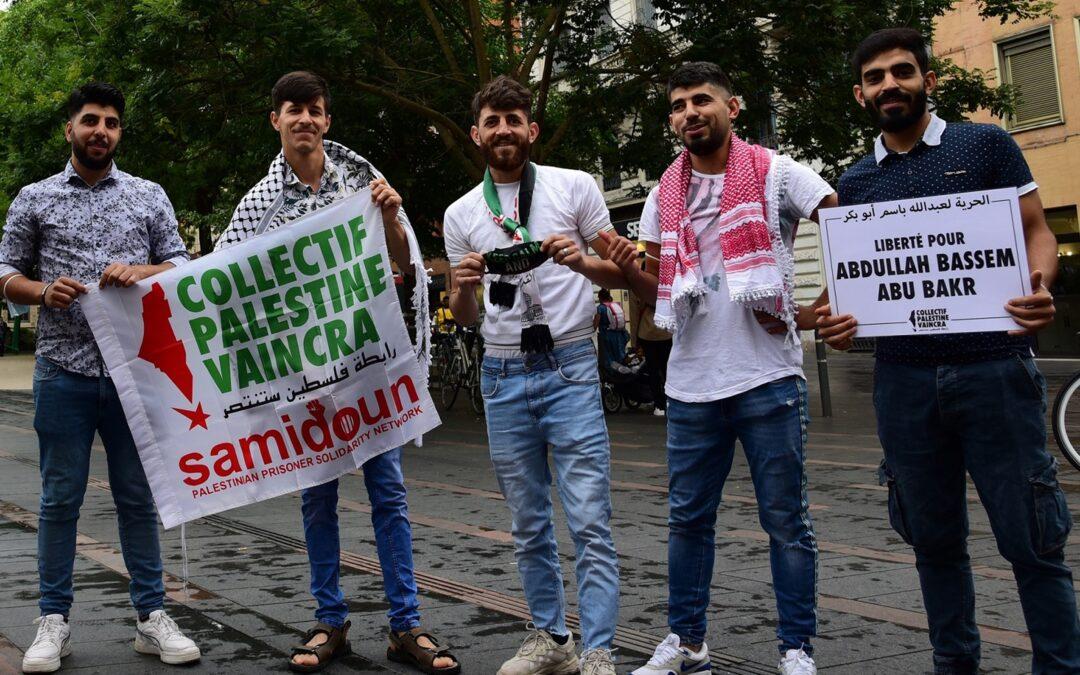 A Toulouse, solidarité avec les prisonniers palestiniens en grève de la faim !