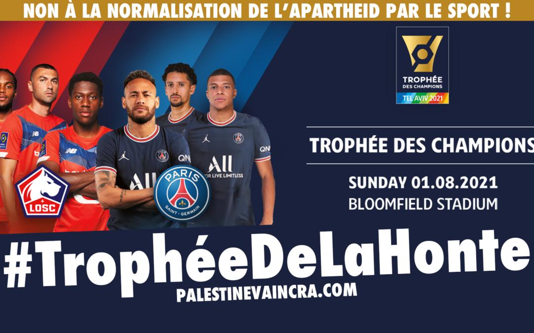 Trophée des Champions à Tel Aviv : «le vainqueur sera Israël» selon son organisateur