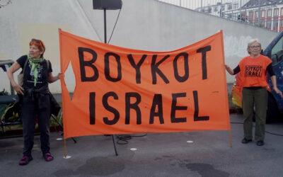 A Copenhague, manifestation pro-palestinienne contre le match de football Danemark-Israël