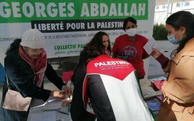 Mardi 19 octobre : Stand Palestine « Liberté pour Georges Abdallah ! »