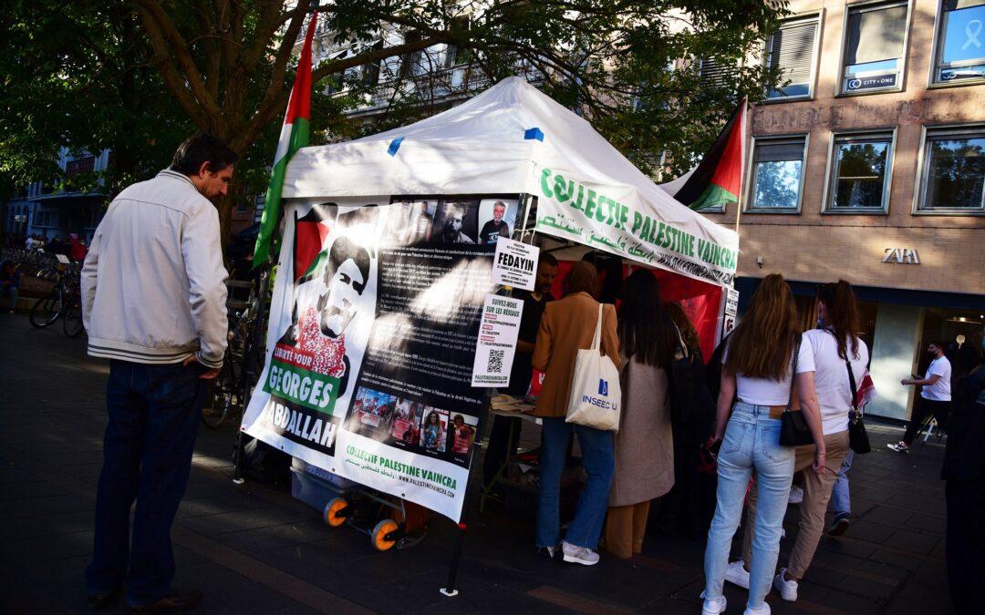 Soutenir Georges Abdallah c'est soutenir le peuple palestinien et sa résistance légitime !
